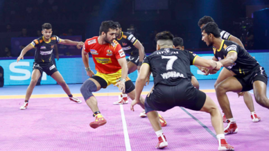 Match 22: Gujarat Fortune Giants vs Telugu Titans