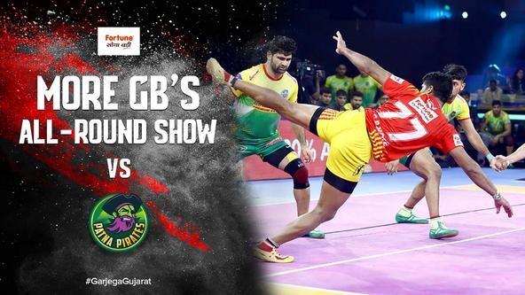 More GB's Stunning All-Round Show Against Patna Pirates   Vivo Pro Kabaddi Season 7