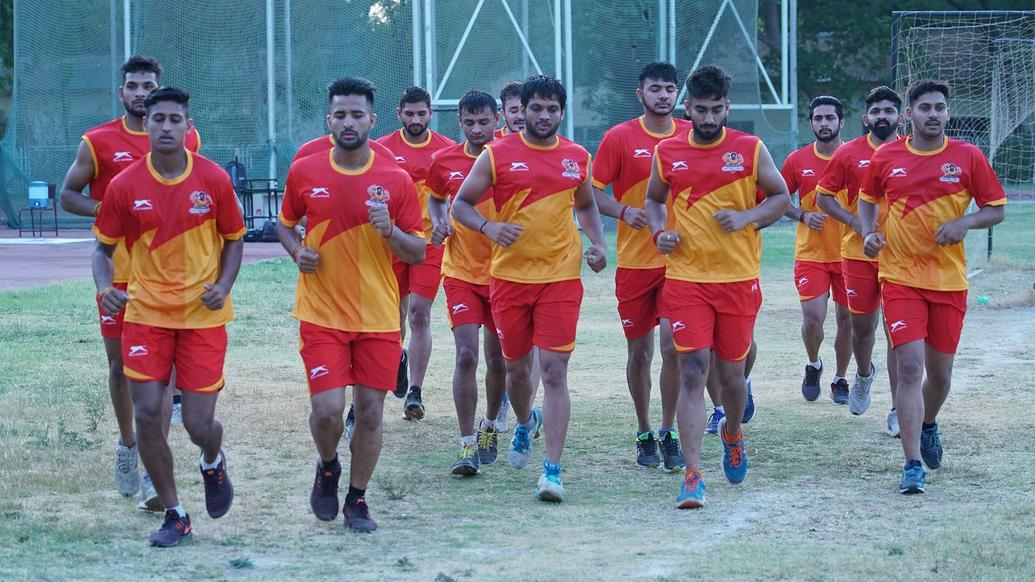 Gujarat Fortune Giants begin training ahead of PKL 2019