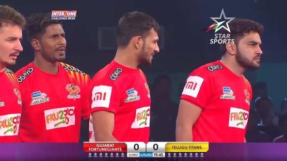 Telegu Titans vs Gujarat Fortune Giants