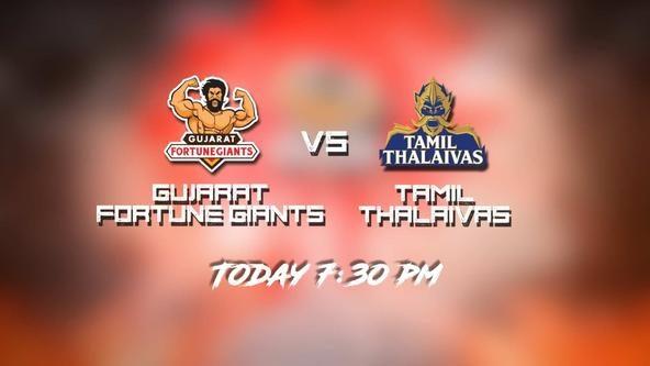 Season 7 | Gujarat Fortune Giants v Tamil Thalaivas - Match Teaser