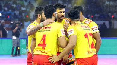 Match 20: Gujarat Fortune Giants vs Haryana Steelers.