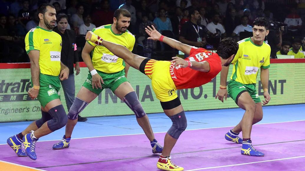The Giants come up short against Tamil Thalaivas