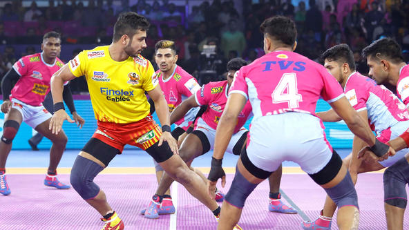 MATCH 17 - Gujarat Fortune Giants vs Jaipur Pink Panthers