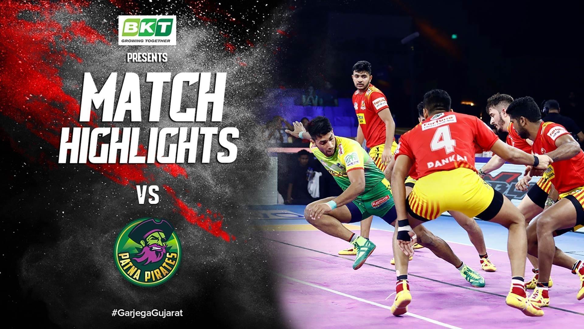 Match Highlights - Gujarat Giants vs Patna Pirates | Vivo Pro Kabaddi 2019