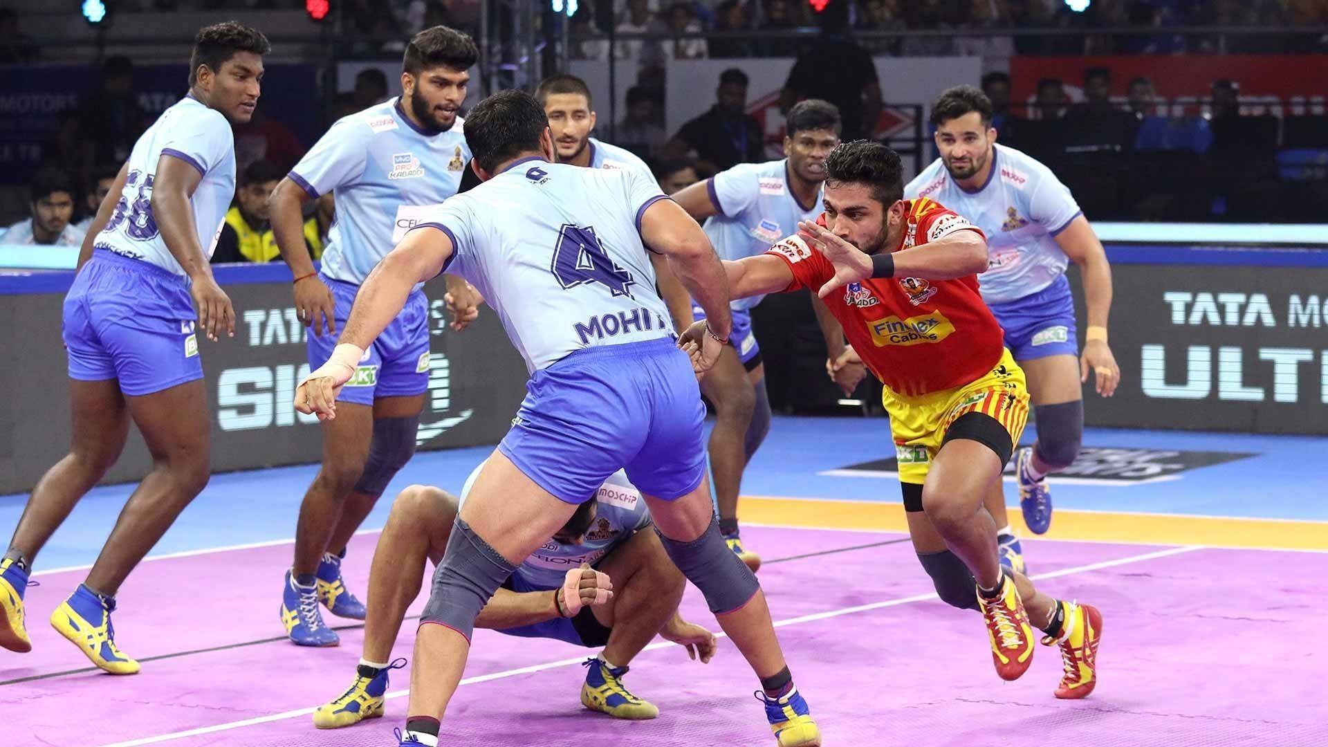 Match 19: Gujarat Fortune Giants vs Tamil Thalaivas
