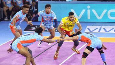 Match 13 - Gujarat Fortune Giants vs Bengal Warriors