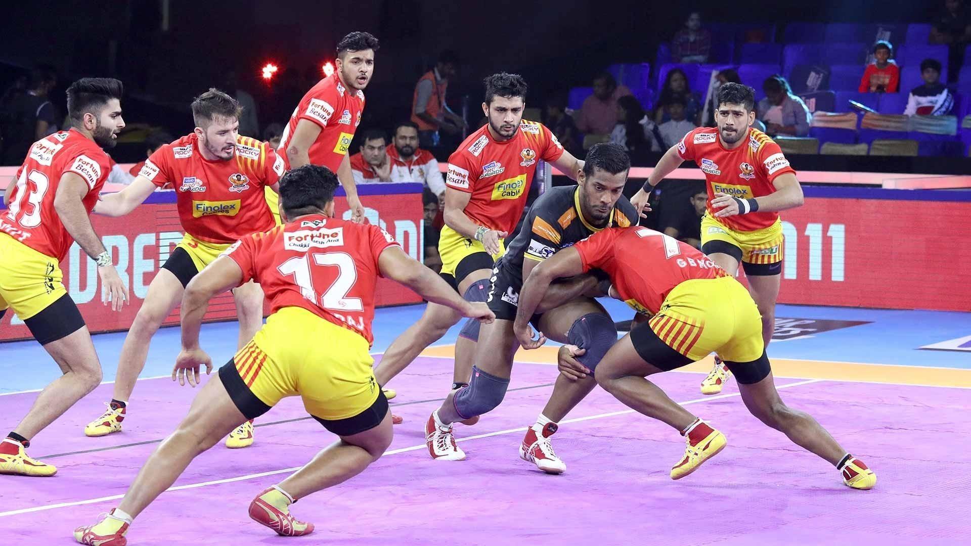 Match 22: Gujarat Fortune Giants vs Telugu Titans