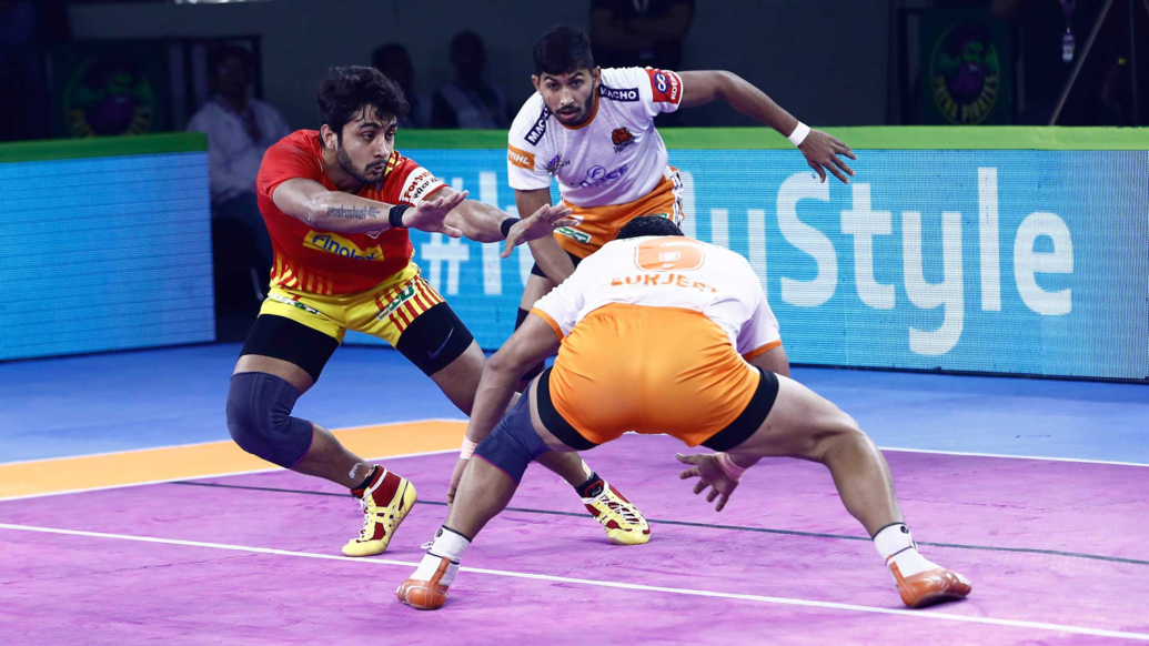 MATCH 5 - GUJARAT FORTUNE GIANTS VS PUNERI PALTAN