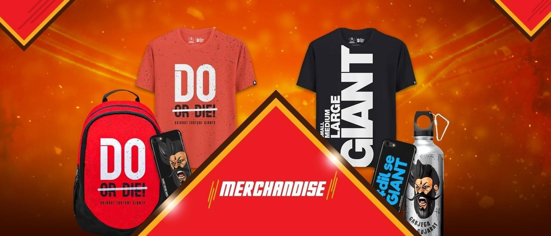Merchandise Banner]