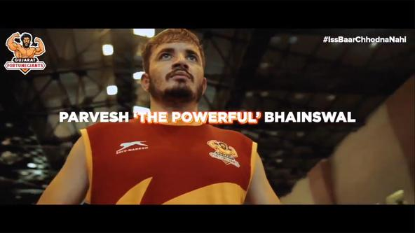 Parvesh 'The Powerful' Bhainswal   | Profile Video | Gujarat Fortune Giants