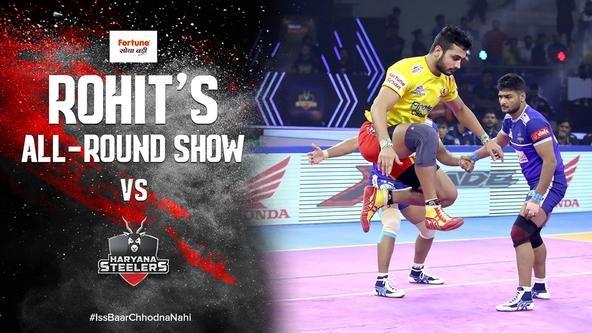 Rohit Gulia's Stunning All-Round Show Against Haryana Stelers | Vivo Pro Kabaddi Season 7